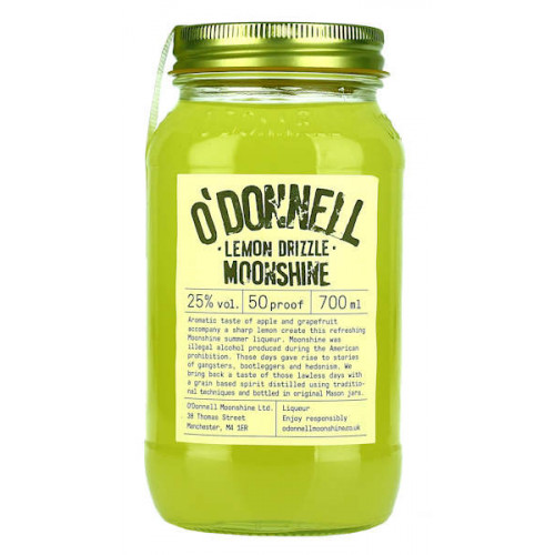 O'Donnell Lemon Drizzle Moonshine