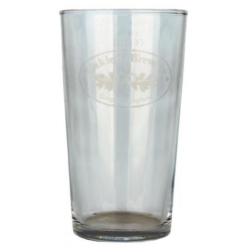 Oakleaf Glass (Pint)