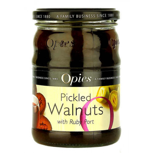 Opies Pickled Walnuts with Ruby Port