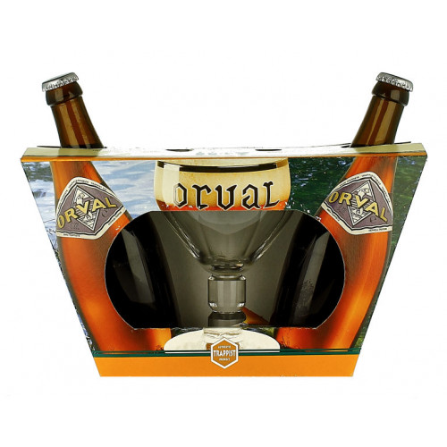 Orval Gift Pack (2x33cl + 1 Glass)