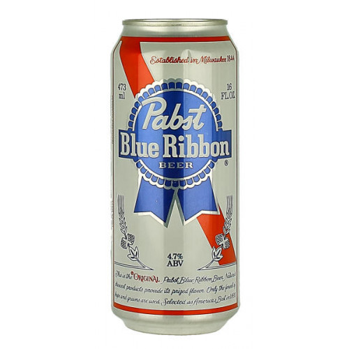 Pabst Blue Ribbon Can 473ml