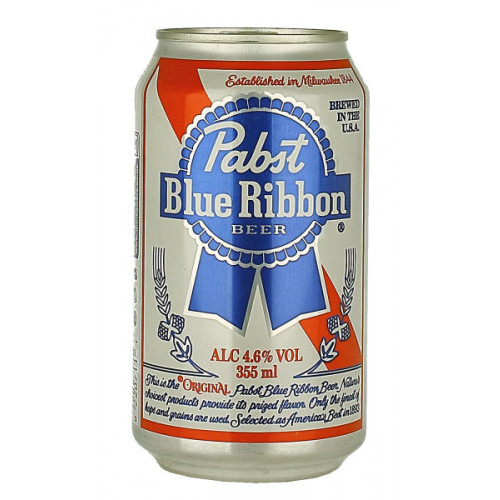 Pabst Blue Ribbon Can 355ml
