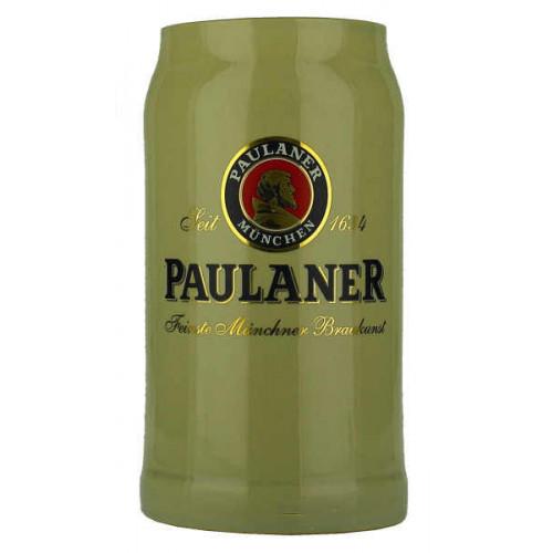 Paulaner Pottery Stein 1L