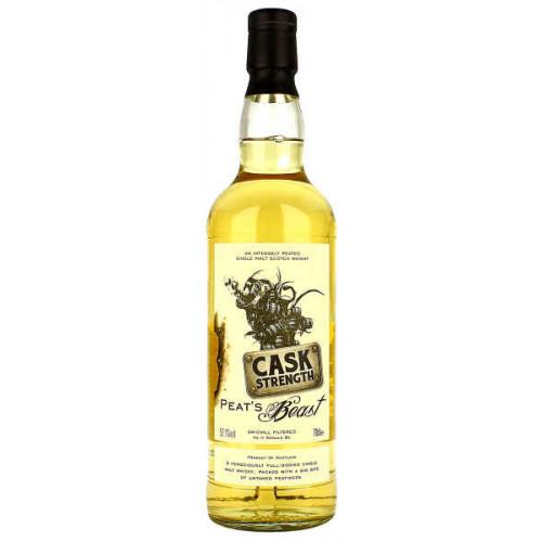 Peats Beast Cask Strength Single Malt Whisky