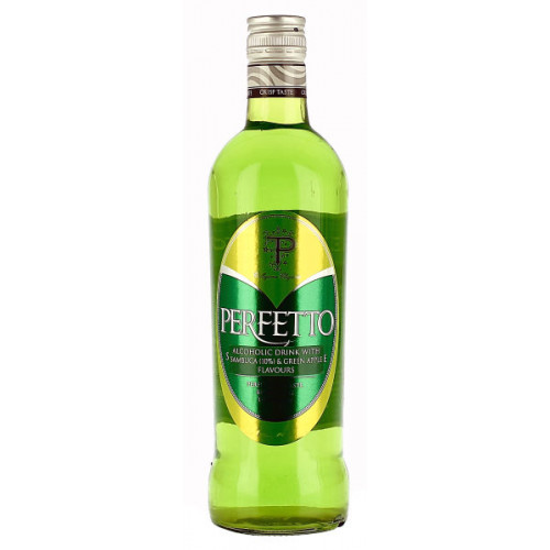 Perfetto Green Apple Style Sambuca