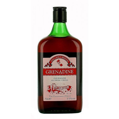 Phillips of Bristol Grenadine Alcoholic Cordial