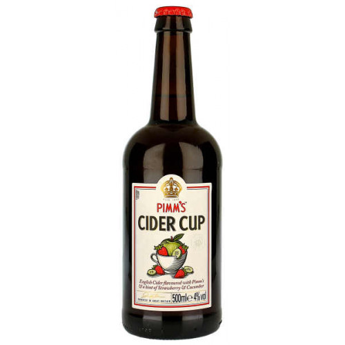 Pimms Cider Cup Strawberry and Cucumber