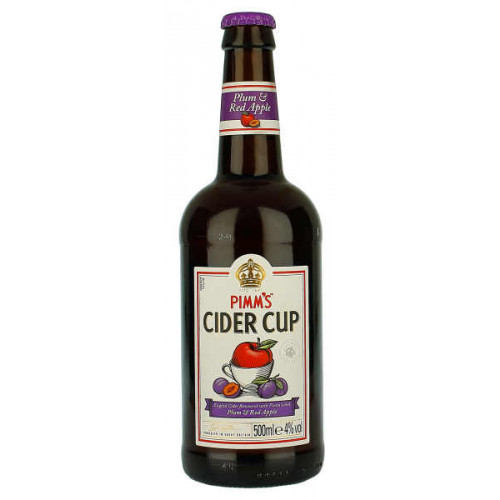 Pimms Cider Cup Plum and Red Apple