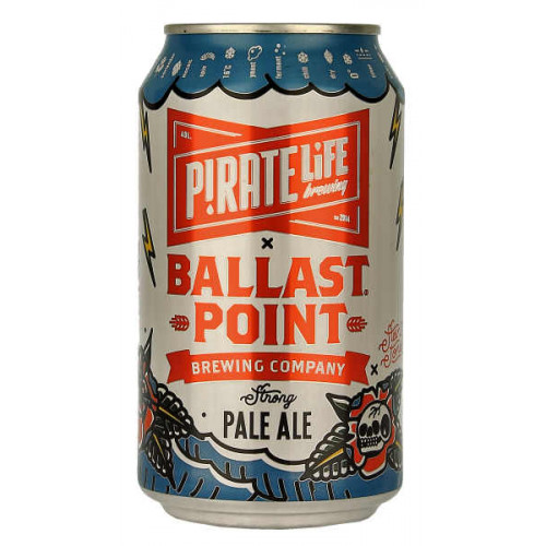 Pirate Life /Ballast Point Brewing Transpacific Pale Ale
