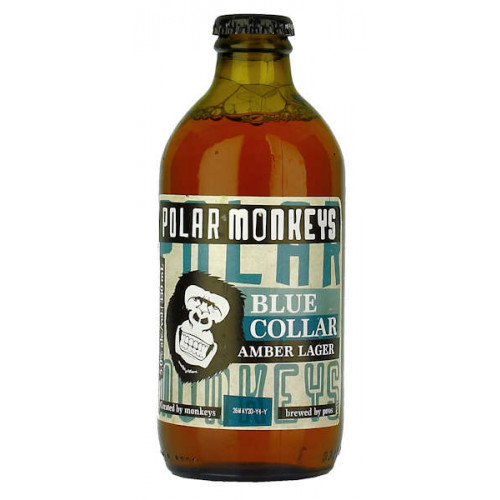 Hartwall Polar Monkeys Blue Collar