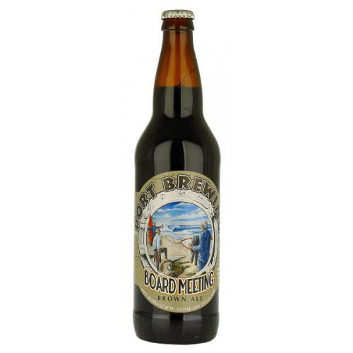 Port Brewing Board Meeting Brown Ale