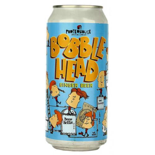 Porterhouse Bobble Head Ginger Beer Can
