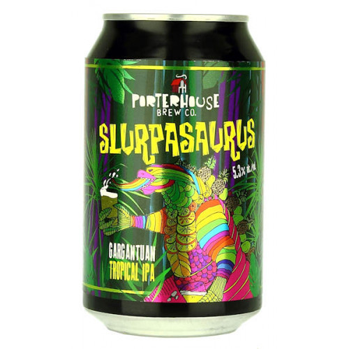 Porterhouse Slurpasaurus Tropical IPA Can