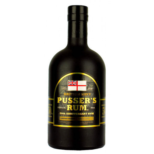 Pussers 50th Anniversary Rum