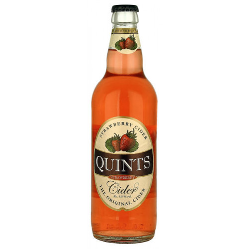 Quints Strawberry Cider