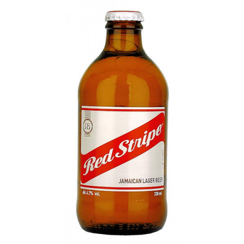 Red Stripe Stubby