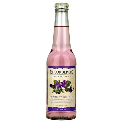 Rekorderlig Botanicals Blackberry Violet Juniper 330ml