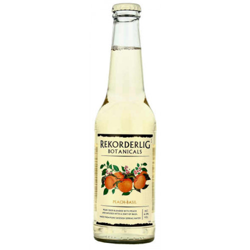 Rekorderlig Botanicals Peach and Basil 330ml