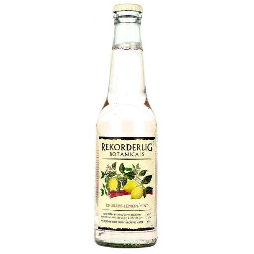 Rekorderlig Botanicals Rhubarb Lemon and Mint 330ml