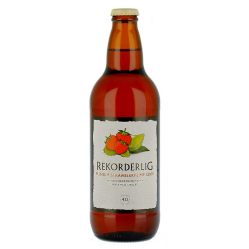 Rekorderlig Strawberry And Lime Cider 500ml