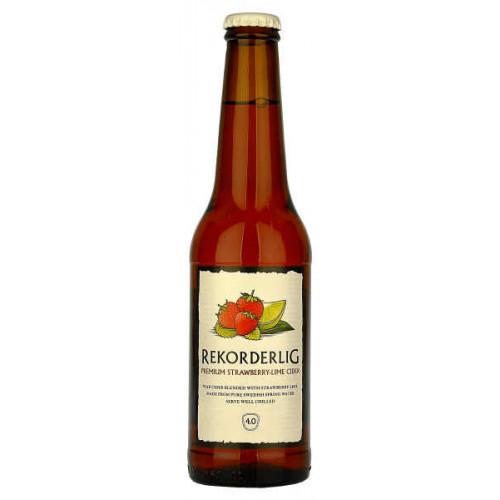 Rekorderlig Strawberry And Lime Cider 330ml