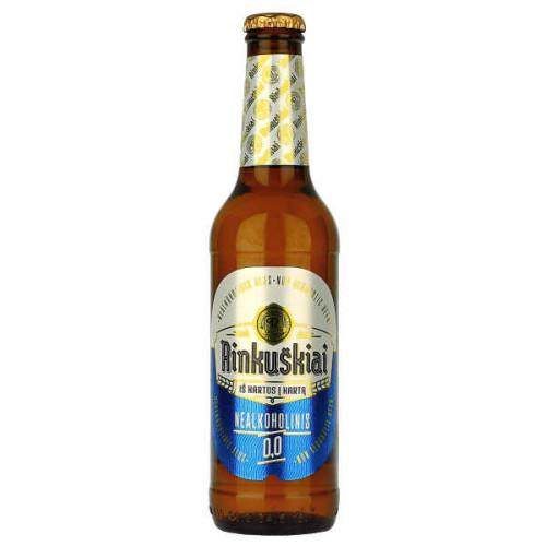 Rinkuskiai Non Alcoholic Lager (B/B Date 21/08/19)