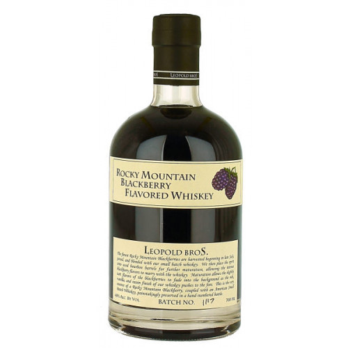 Leopolds Rocky Mountain Blackberry Flavoured Whiskey