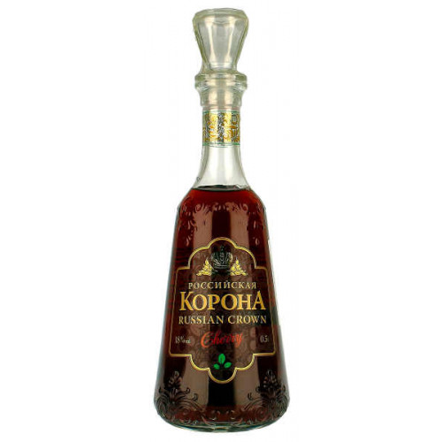 Rossiyskaya Korona Cherry Vodka