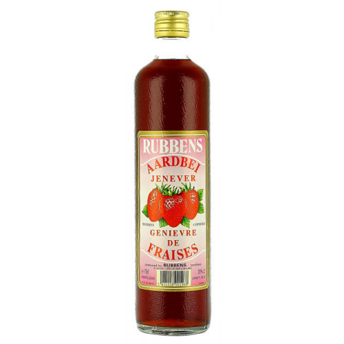 Rubbens Strawberry Jenever