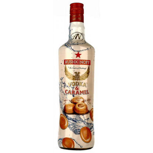 Rushkinoff Vodka and Caramel Liqueur