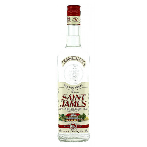 St James White Rum