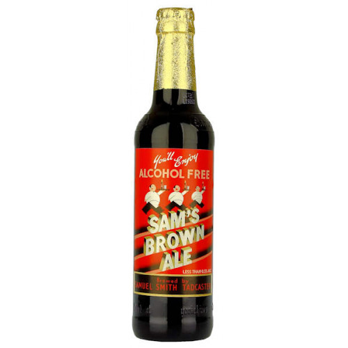 Samuel Smiths Sams Brown Ale Alcohol Free 355ml