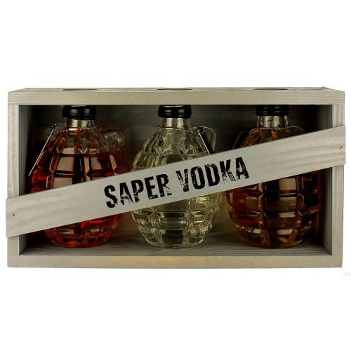 Saper Vodka (3 x 200ml)
