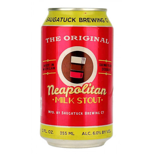 Saugatuck Neapolitan Milk Stout Can