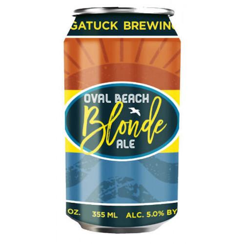 Saugatuck Oval Beach Blonde Ale Can