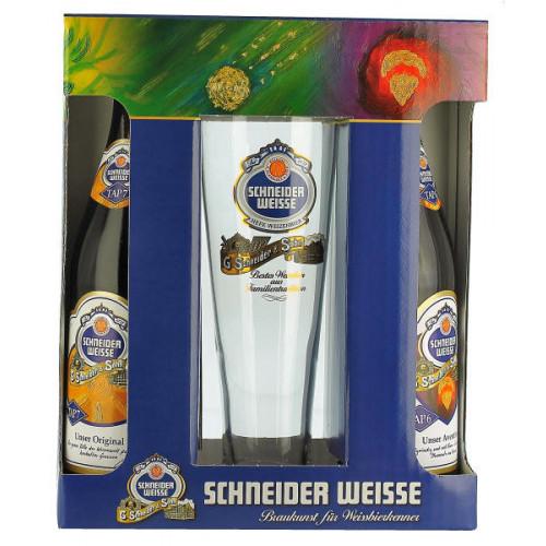 Schneider Weisse Gift Pack (2x50cl + 1 Glass)