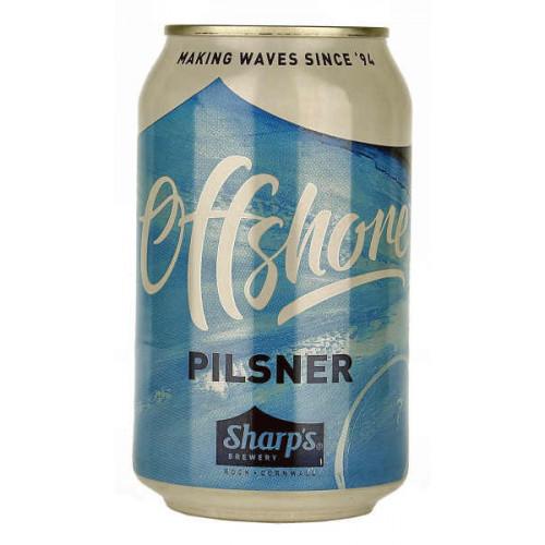 Sharps Offshore Pilsner Can (B/B Date 31/01/19)
