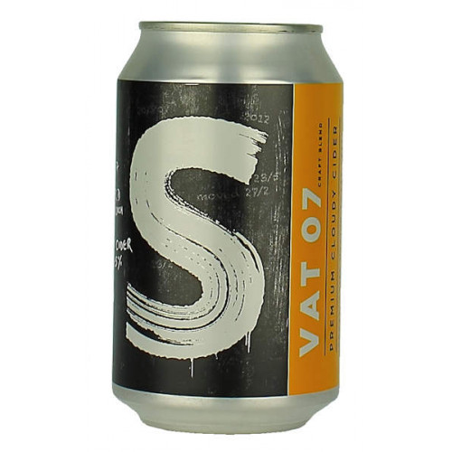 Sheppys Vat 07 Premium Cloudy Cider Can