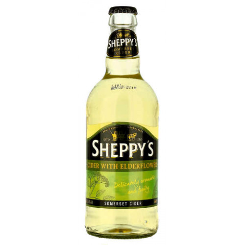 Sheppy Cider with Elderflower