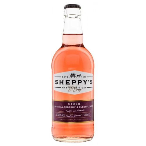 Sheppy Cider with Blackberry and Elderflower
