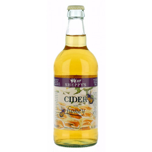 Sheppy Cider with Honey