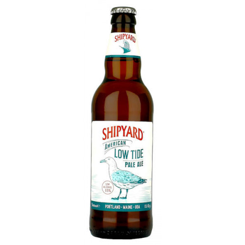 Shipyard Brewery American Low Tide Pale Ale