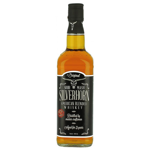 Silverhorn Sour Mash Whiskey
