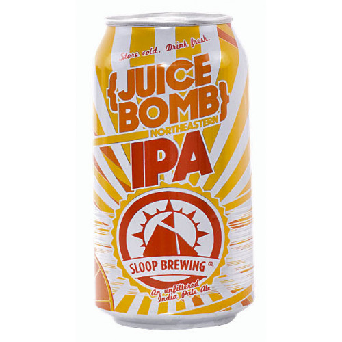 Sloop Juice Bomb IPA Can
