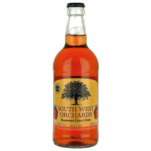 South West Orchards Raspberry Craft Cider