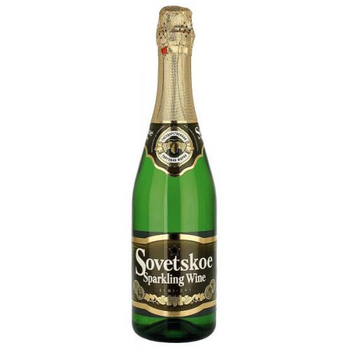 Sovetskoe Sparkling Semi Dry Wine