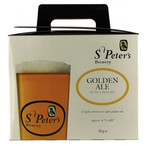 St Peters Golden Ale Home Brew Kit