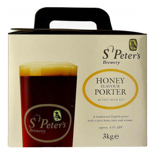 St Peters Honey Porter Home Brew Kit