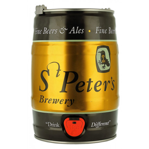 St Peters Golden Ale 5 Litre Mini Keg
