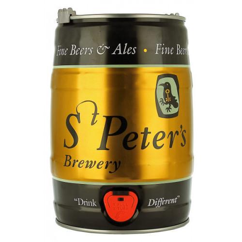 St Peters Cream Stout 5 Litre Mini Keg